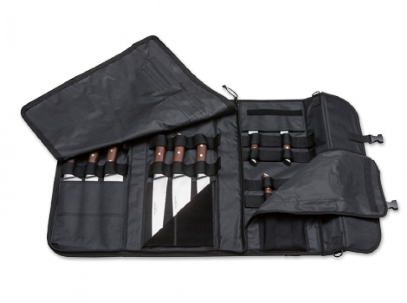 b ker forge wood set mit kochmessertasche samurai shop. Black Bedroom Furniture Sets. Home Design Ideas
