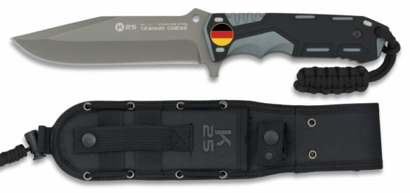 Tactical knife grey/black