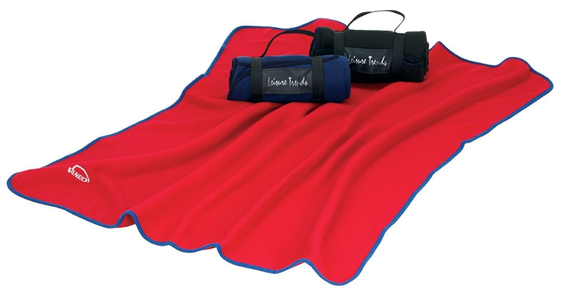 Picknickdecke Fleece Blanket in blau